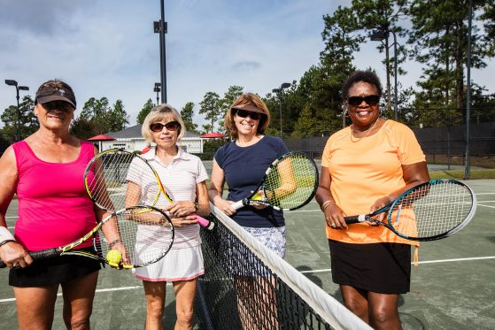 Tennis at Woodside